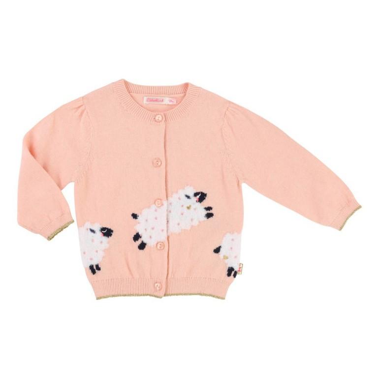 cardigan-moutons-rose-peche